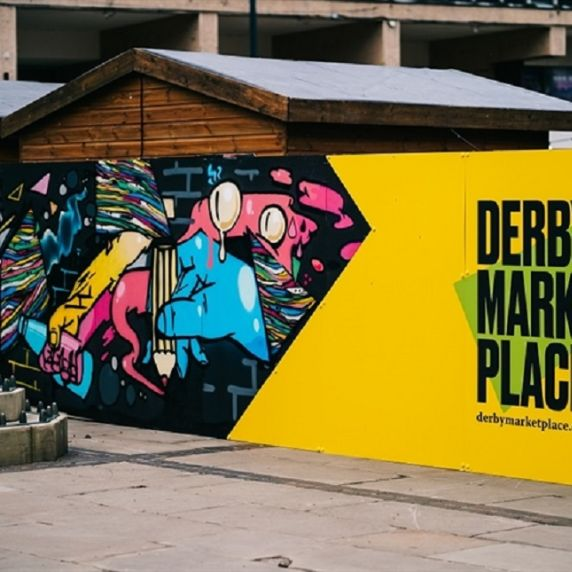 Discover Derby: Derby Market Place takeover