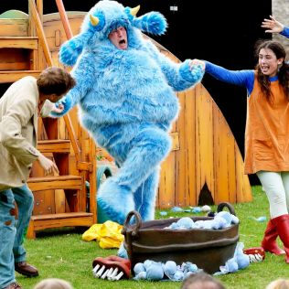 Pirate Pearl and the Big Blue Monster (Bluebell Dairy) - 1 Aug