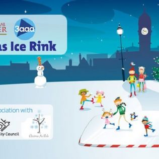 Cathedral Quarter 3aaa Christmas Ice Rink 2018 - 30 Nov - 6 Jan