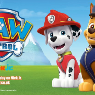 PAW Patrol are in the house! - 28 Aug