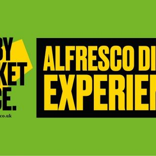 Derby Market Place Alfresco Dining Experience