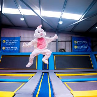 Oxygen Freejumping Easter Activities - 8 - 23 Apr