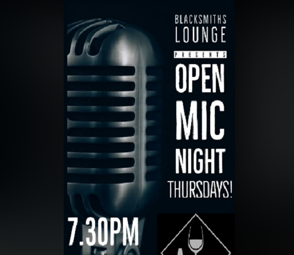 Blacksmiths Lounge Virtual Open Mic Night Thursdays
