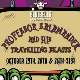 Halloween 2019- Professor Salamander & his Travelling Beasts - 19 - 31 Oct