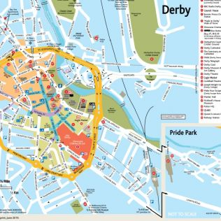 Derby City Map Download