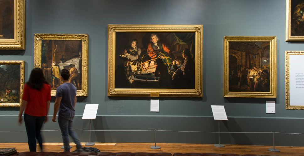 Joseph Wright Gallery Derby (credit: Visit England Diana Jarvis)
