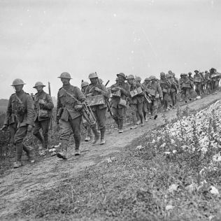 The Sherwood Foresters at the Battle of the Somme