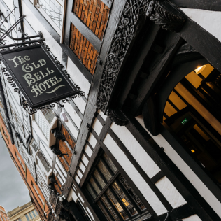 7. The Old Bell Hotel