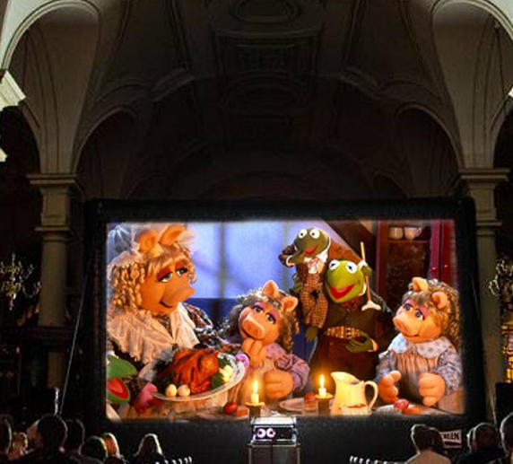 The Muppet Christmas Carol (U) at Derby Cathedral