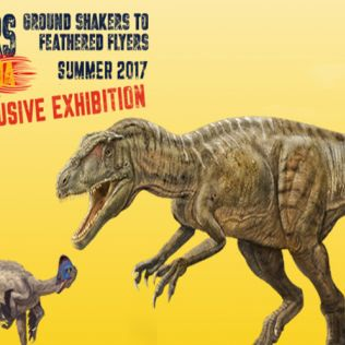 Dinosaurs of China - 1 Jul - 29 Oct