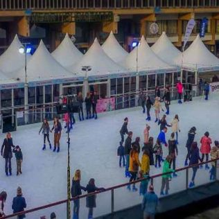 Cathedral Quarter 3aaa Christmas Ice Rink - 27 Nov - 5 Jan