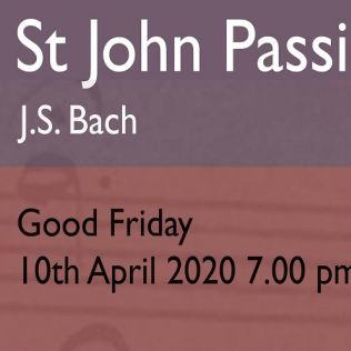 Derby Cathedral Choir sing St John Passion - Bach - 10 Apr
