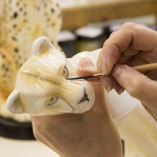 Royal Crown Derby Factory Tour