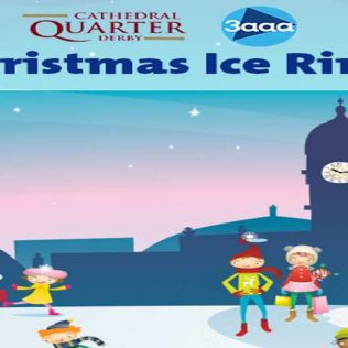 Cathedral Quarter 3aaa Christmas Ice Rink - 1 Dec - 2 Jan