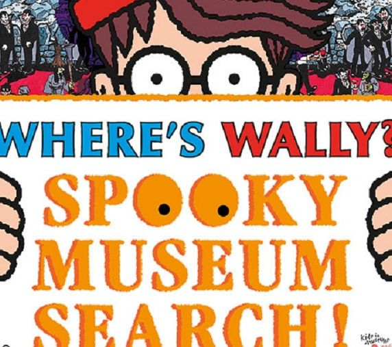 WHERE'S WALLY? SPOOKY MUSEUM SEARCH!