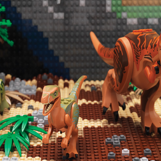 BRICK HISTORY: A WORLD OF LEGO® AWAITS