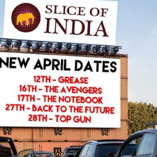 Slice of India Drive in Cinema 12 - 28 Apr