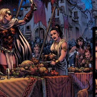 Judge Dread to Wonder Woman - The Work of Liam Sharp - 23 June - 3 Sep